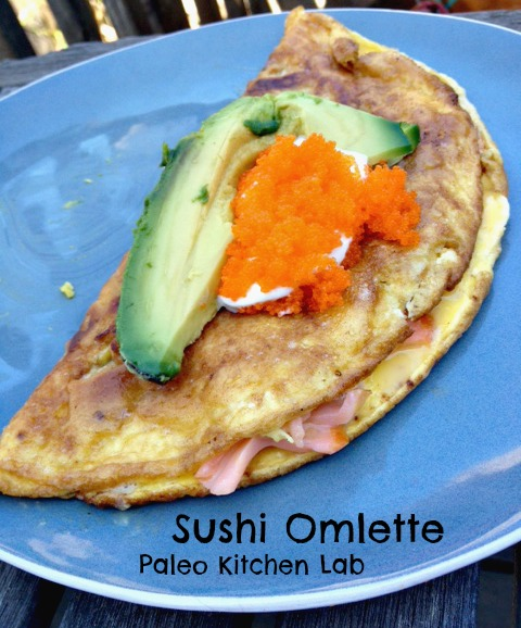 How to make the perfect (sushi) omelette