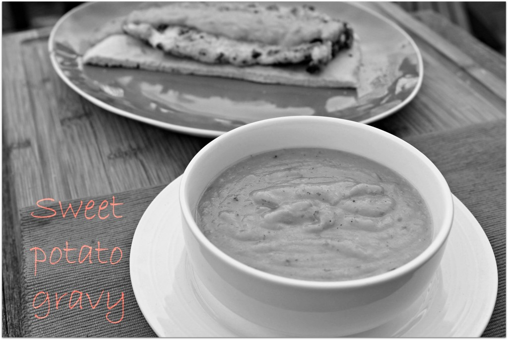 Sweetpotato gravy