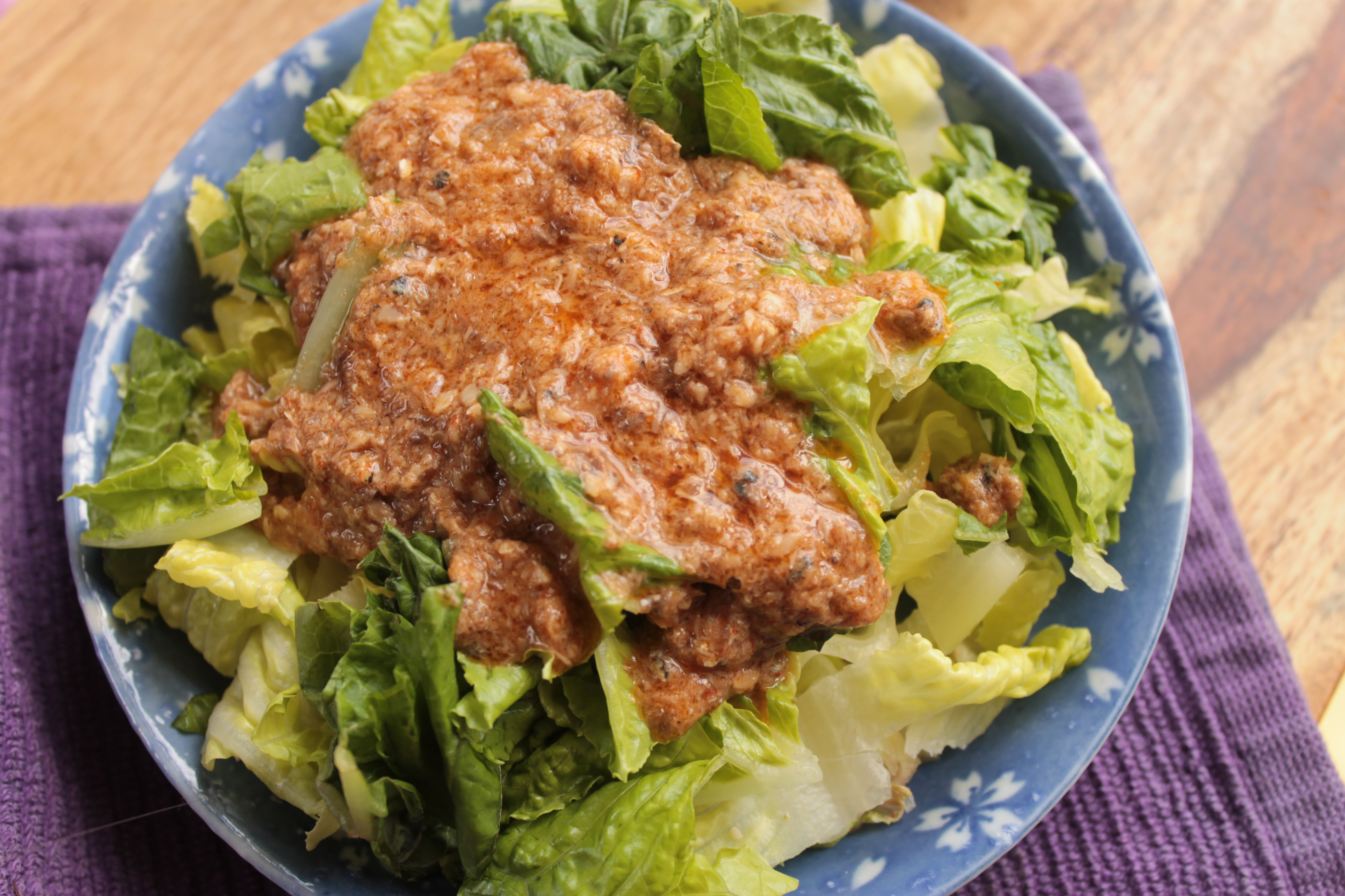 Sardine salad dressing