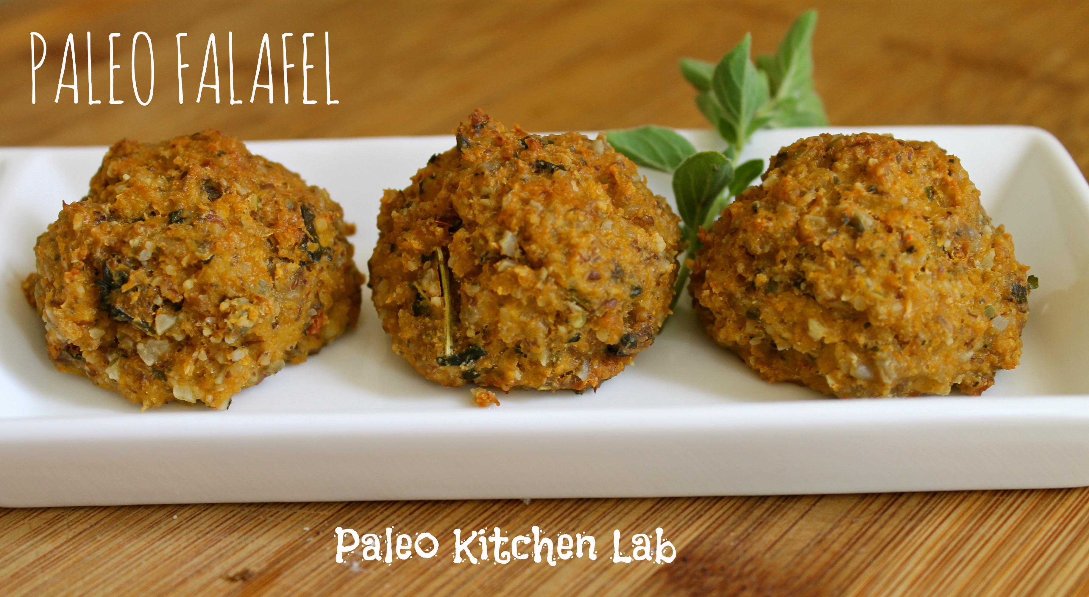 Paleo falafel