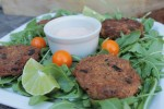 Crab cakes from Paleo Mediterrenean cooking
